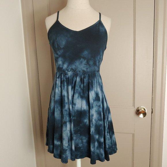Soft and Sexy A E Tie Dye Tank Dress